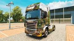 La piel del Parque Central de camiones Scania para Euro Truck Simulator 2