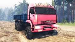 KamAZ-65221 URSS para Spin Tires