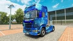 De Agua de la piel en el tractor Scania para Euro Truck Simulator 2