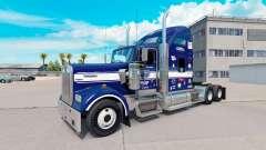 La piel Tío D de la Logística en el camión Kenworth W900 para American Truck Simulator
