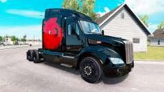 La piel turco de Energía en el tractor Peterbilt para American Truck Simulator