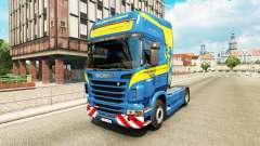 Wittwer de la piel para Scania camión para Euro Truck Simulator 2