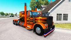 La piel Texas, estados UNIDOS para el camión Peterbilt 389 para American Truck Simulator
