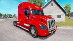 La piel de Caballero camión Freightliner Cascadia para American Truck Simulator