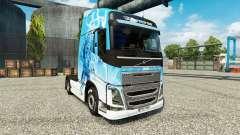 Klanatrans de la piel para camiones Volvo para Euro Truck Simulator 2