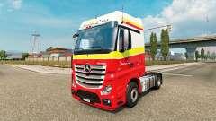 Simon Loos de la piel para el camión Mercedes-Benz para Euro Truck Simulator 2