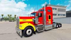 La piel USMC v1.01 en el camión Kenworth W900 para American Truck Simulator