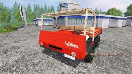 Waldhofer D22 para Farming Simulator 2015