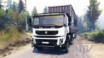 Volvo FMX 400 para Spin Tires