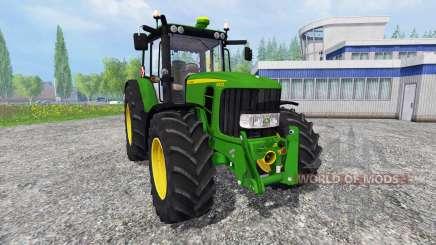 John Deere 6830 Premium [washable] para Farming Simulator 2015