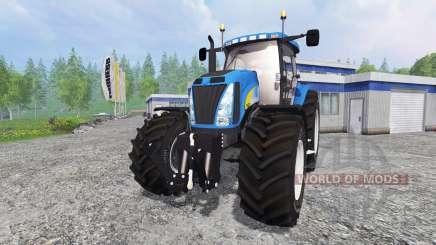 New Holland T8020 v2.2 para Farming Simulator 2015