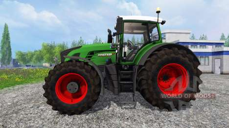 Fendt 939 Vario Wheelshader [washable] para Farming Simulator 2015