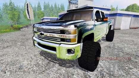 Chevrolet Silverado 2500 (GMTK2H) v3.0 para Farming Simulator 2015