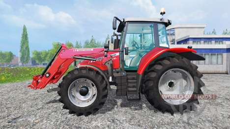 Massey Ferguson 5710 FL para Farming Simulator 2015