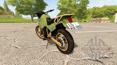 Kawasaki KR650 para Farming Simulator 2017