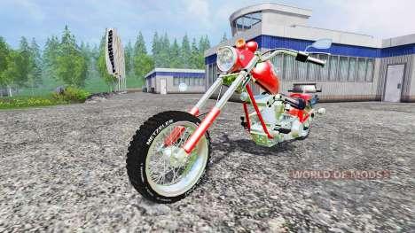 Harley-Davidson v4.0 para Farming Simulator 2015