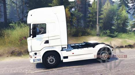 Scania R730 4x4 para Spin Tires