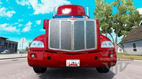 Una colección de placas de v1.1 para American Truck Simulator