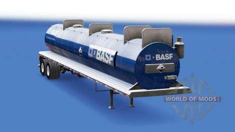 La piel de BASF en el tanque de ácidos para American Truck Simulator