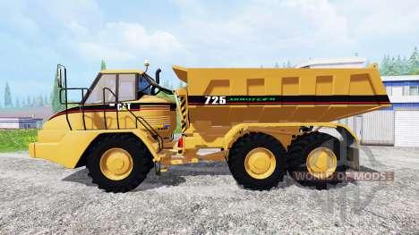 Caterpillar 725A [dump] v2.5 para Farming Simulator 2015