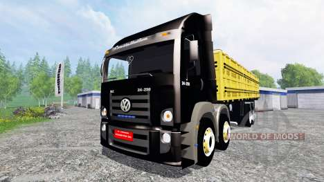 Volkswagen Constellation 24.250 8x8 para Farming Simulator 2015