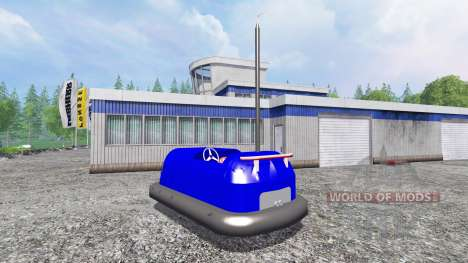 Bumper machine para Farming Simulator 2015
