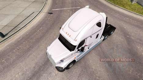 Скин P. A. M. Transporte на Freightliner Cascadi para American Truck Simulator