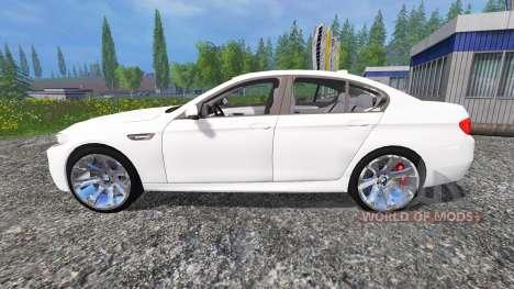 BMW M5 (F10) 2011 para Farming Simulator 2015