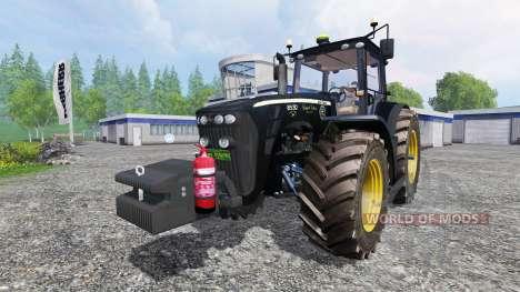 John Deere 8530 v3.0 [black limited edition] para Farming Simulator 2015