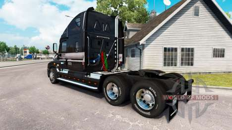 La piel de la MARTA en el camión Freightliner Ca para American Truck Simulator