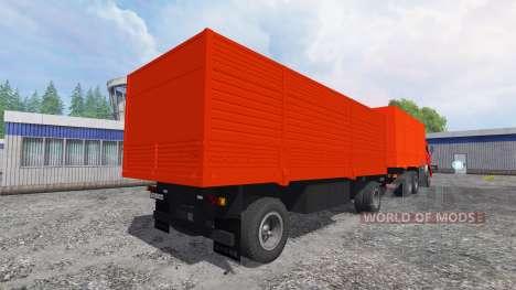 KamAZ-53212 [rojo] para Farming Simulator 2015