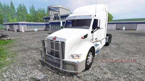 Peterbilt 579 para Farming Simulator 2015