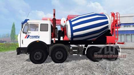 Mercedes-Benz NG 1632 Cemex para Farming Simulator 2015