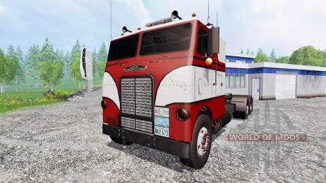 Freightliner White WF para Farming Simulator 2015
