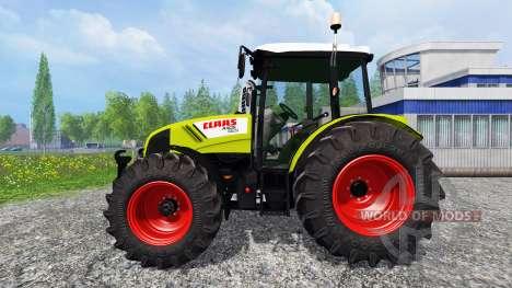 CLAAS Axos 330 v2.0 para Farming Simulator 2015
