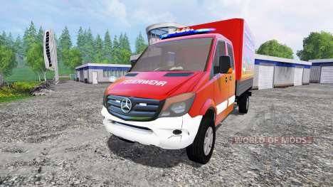 Mercedes-Benz Sprinter 316 CDI para Farming Simulator 2015