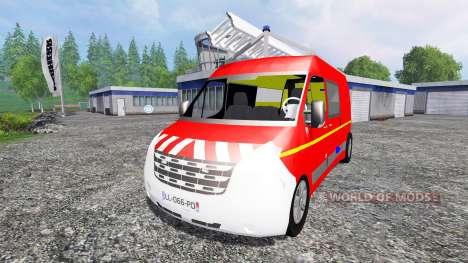 Renault Master VTU para Farming Simulator 2015