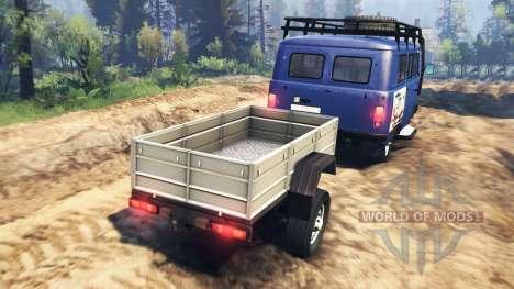 UAZ-2206 v2.0 para Spin Tires