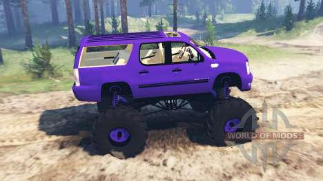 Cadillac Escalade ESV para Spin Tires
