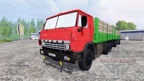 KamAZ-55212 v2.0 para Farming Simulator 2015