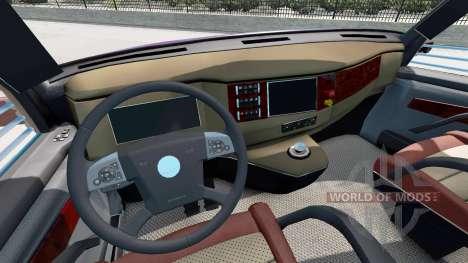 Concept truck 2020 Raised Roof Sleeper para American Truck Simulator