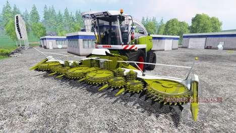 CLAAS Jaguar 890 para Farming Simulator 2015