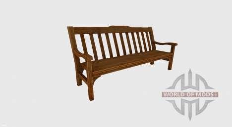 Garden bench para Farming Simulator 2017