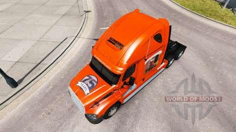 La piel de SCHNEIDER camión Freightliner Cascadi para American Truck Simulator