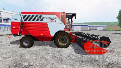 Massey Ferguson 7278 para Farming Simulator 2015