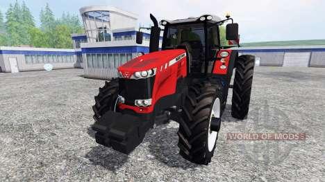 Massey Ferguson 8737 [row crops] para Farming Simulator 2015