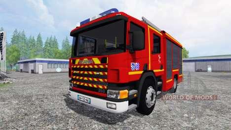 Scania P94D 260 GIMAEX v0.4.1 para Farming Simulator 2015