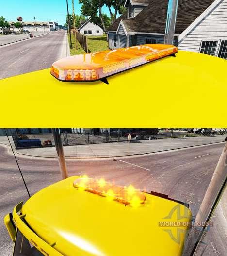Luz estroboscópica v1.5 para American Truck Simulator