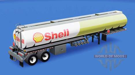 La piel de Shell para el tanque de combustible para American Truck Simulator