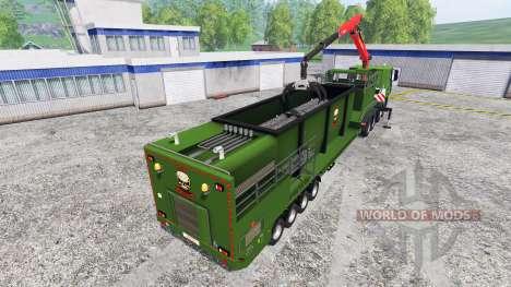 Iveco Stralis [wood chippers] v1.1 para Farming Simulator 2015
